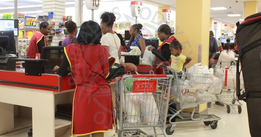 Minister Dwight Sutherland says supermarket operators and other traders should be given more time to sell old stock before customers could see the full reduction in prices on items that previously attracted the NSRL.