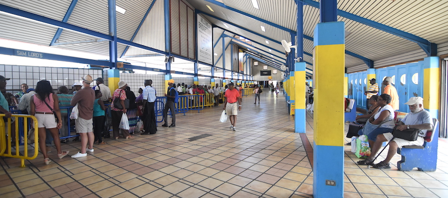 Passengers have expressed satisfaction with the work done at bus terminals.