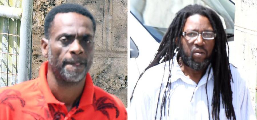 Rodney Rudolph Simpson (left) and Orlando Adolphus Davis.